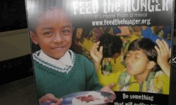 Feed the Hunger Table Top Display