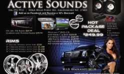 Active Sounds Flyer #1