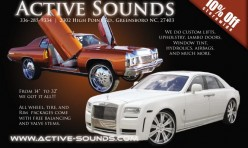 Active Sounds Flyer #2
