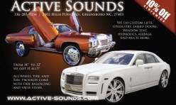Active Sounds Flyer #2