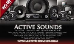 Active Sounds Flyer #3