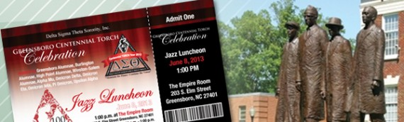 DST Sorority chooses Digiwork Studio to create Admission Ticket for Centennial Event