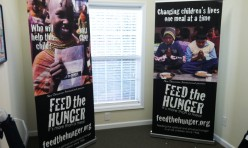 Feed the Hunger banner display