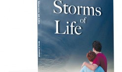 The Storms of Life Book Cover Design