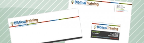 Biblical Training hires Digiwork Studio to design logo and business identity