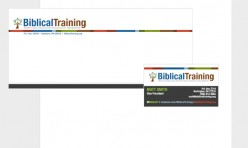 Biblical Training Business Identity