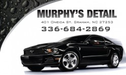 Murphy's Detail Business Card