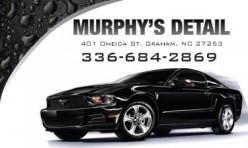 Murphy's Detail Business Card